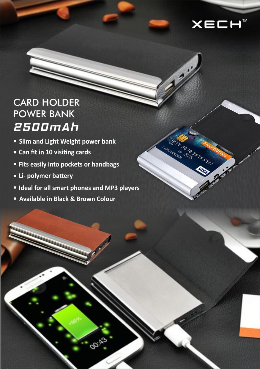 Cardholder + Powerbank - Gifting Solutions India