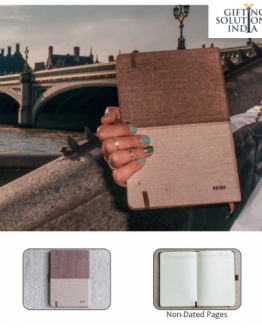 Eco-friendly cotton notebook