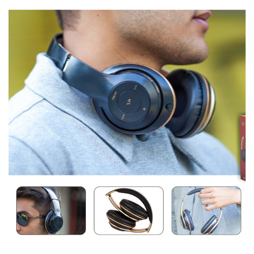 Noise isolation Bluetooth headphone